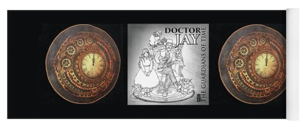 Doctor Jay, And The Guardians Of Time Yoga Mat