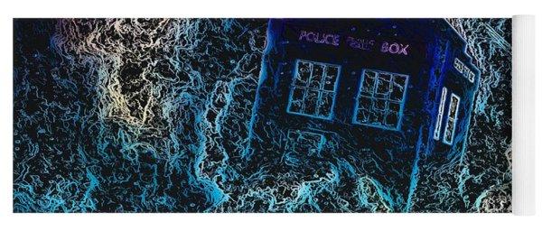 Doctor Who Tardis 3 Yoga Mat