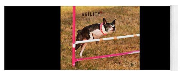 Doggie Agility  Yoga Mat