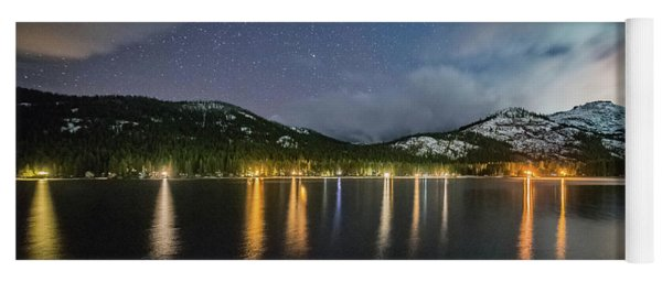 Donner Lake Before The Storm Yoga Mat