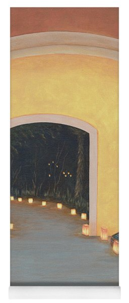 Doorway To The Festival Of Lights Yoga Mat