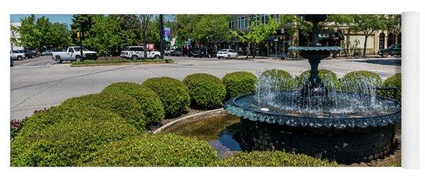 Downtown Aiken Sc Fountain Yoga Mat