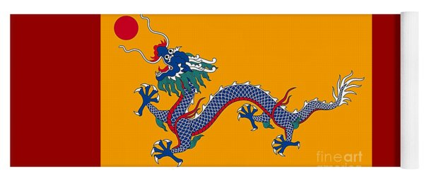 Dragon Of A Chinese Dynasty Yoga Mat