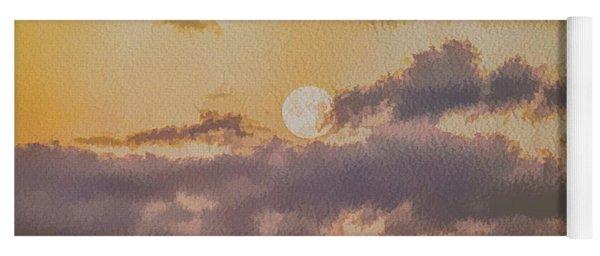 Dreamy Moon Yoga Mat