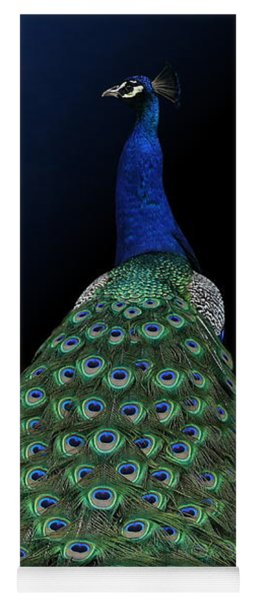 Dressed To Party - Male Peacock Yoga Mat