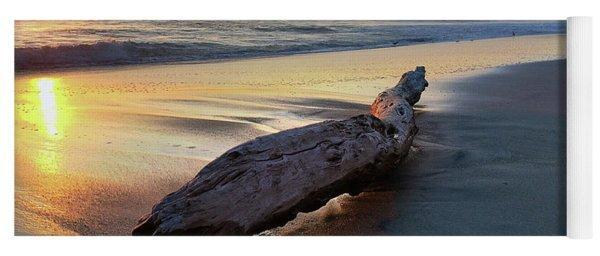 Drift Wood At Sunset II Yoga Mat