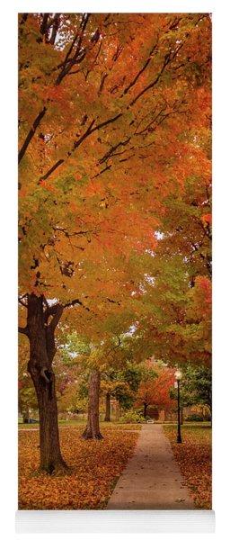 Drury Autumn Yoga Mat