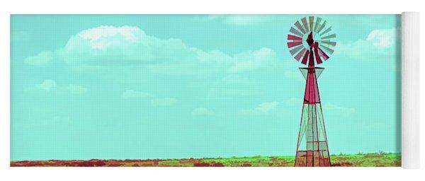 Dueling Tones Windmill Yoga Mat