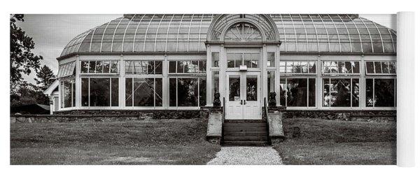 Yoga Mat featuring the photograph Duke Farms Conservatory by Steve Stanger