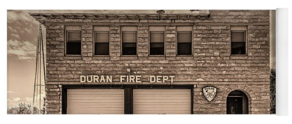 Duran Fire Dept Yoga Mat