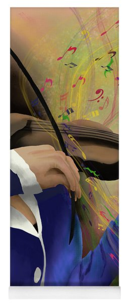 Dusting Off The Violin Yoga Mat