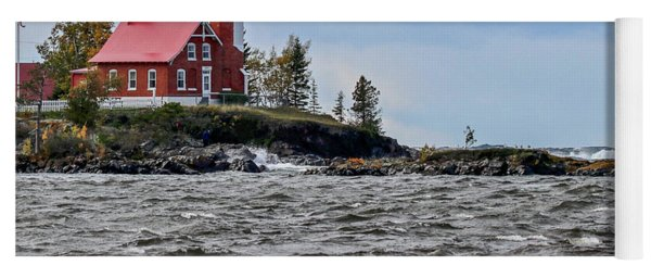 Eagle Harbor Lighthouse Yoga Mat