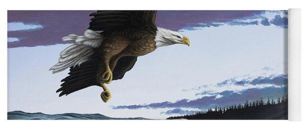 Eagle In Flight Yoga Mat