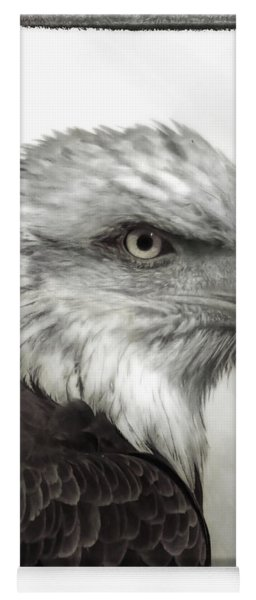 Eagle Protrait Yoga Mat