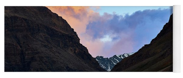 Early Morning Clouds In Sarchu Yoga Mat