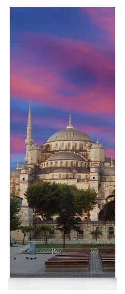 Early Morning Light On  Sultan Ahmet Camii Yoga Mat