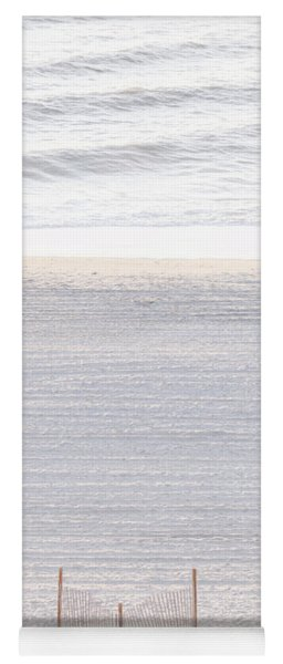 Early Morning #wallart #beach #sand #sunrise Yoga Mat