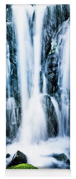 Early Spring Waterfall Yoga Mat