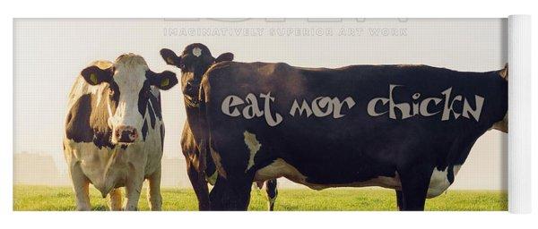 Eat Mor Chickn Yoga Mat