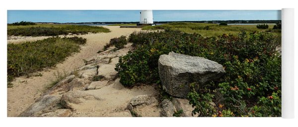 Edgartown Lighthouse Marthas Vineyard Yoga Mat