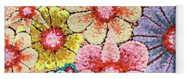 Efflorescent 4 Yoga Mat