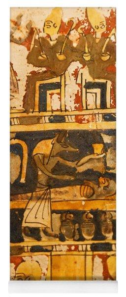 Egyptian Wall Art Yoga Mat