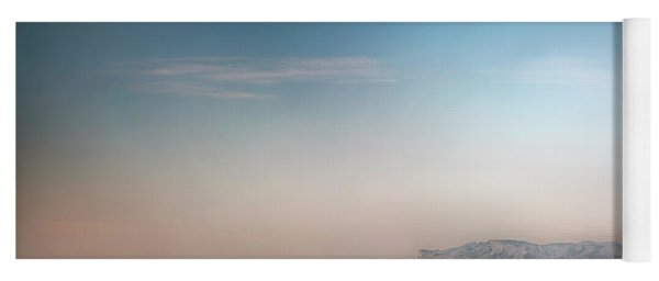 Guadalupe Mountains From A Distance Yoga Mat