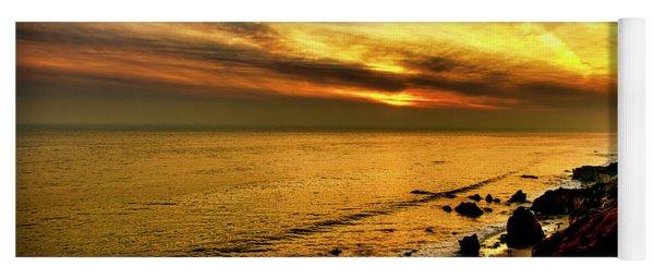 El Matador Beach Sunset Yoga Mat