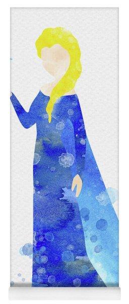 Elsa Watercolor Yoga Mat