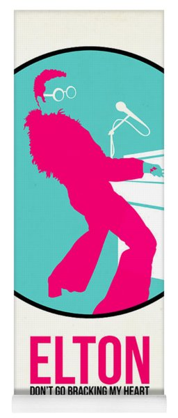 Elton Poster  Yoga Mat
