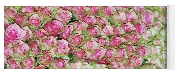 Empress Josephine's Roses Yoga Mat