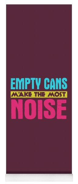 Empty Cans Yoga Mat