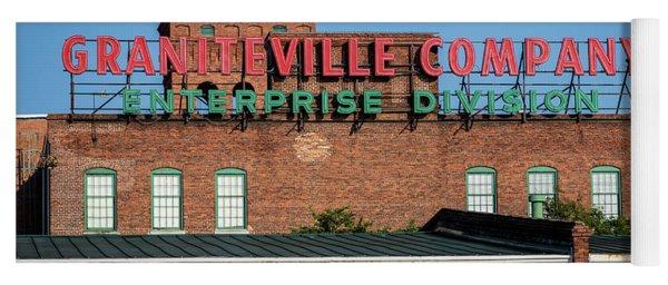 Enterprise Mill - Graniteville Company - Augusta Ga 1 Yoga Mat