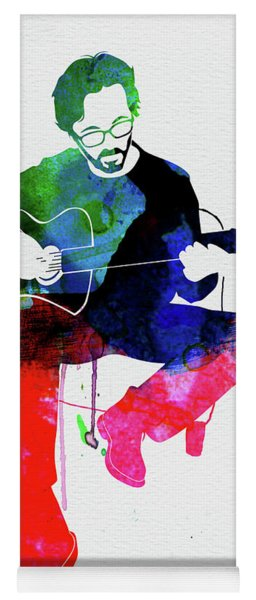 Eric Clapton Watercolor Yoga Mat