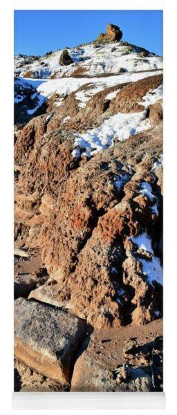 Eroded Bentonite On Ruby Mountain Yoga Mat