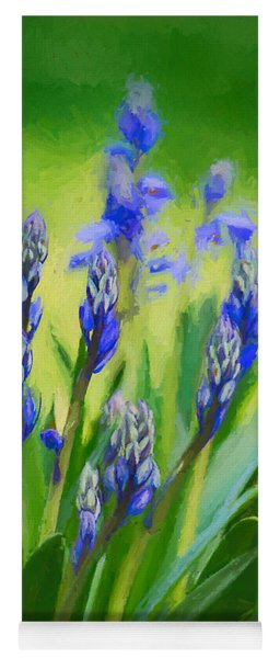 Yoga Mat featuring the photograph Essense Of Spring by Kristi Swift