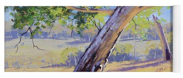 Eucalyptus Tree Australia Yoga Mat
