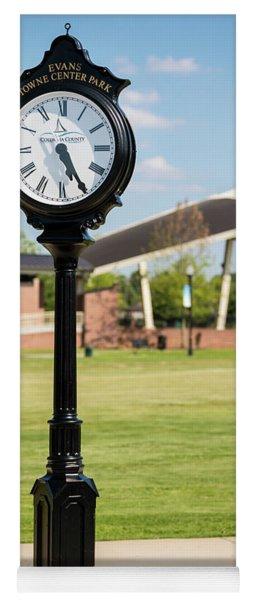 Evans Towne Center Park Clock - Columbia County Ga Yoga Mat
