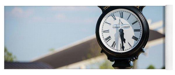 Evans Towne Center Park Clock - Evans Ga Yoga Mat