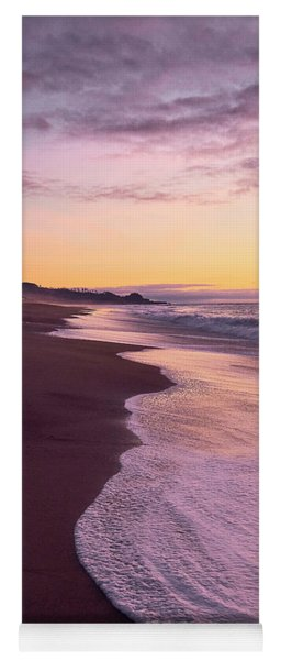 Evening On Gleneden Beach Yoga Mat