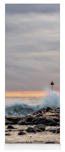 Explosive Sea 1 Yoga Mat