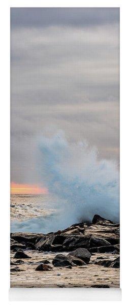 Explosive Sea 3 Yoga Mat