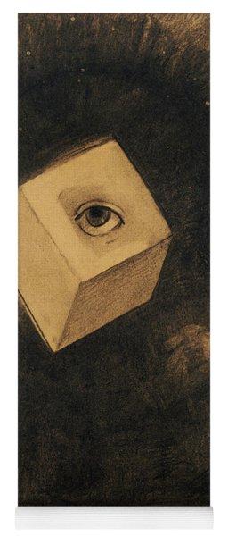 Eye By Odilon Redon Yoga Mat