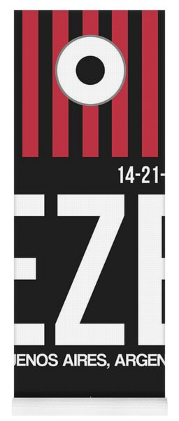Eze Buenos Aires Luggage Tag II Yoga Mat
