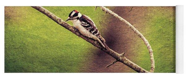Faded Canvas Woodpecker Yoga Mat