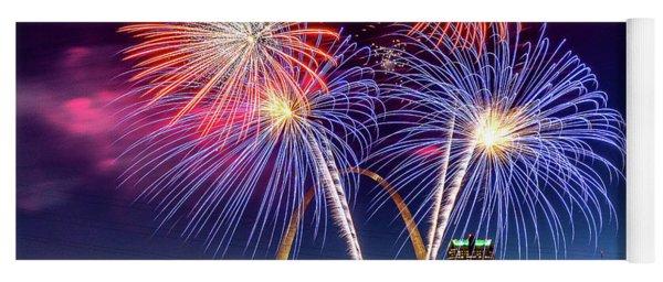 Fair St. Louis Fireworks 6 Yoga Mat