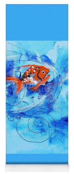 Fake Nemo Fish Yoga Mat