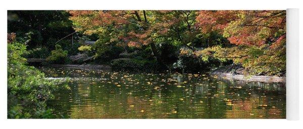 Fall At The Japanese Garden Yoga Mat