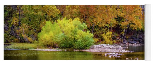 Fall Colors Of The Ozarks Yoga Mat