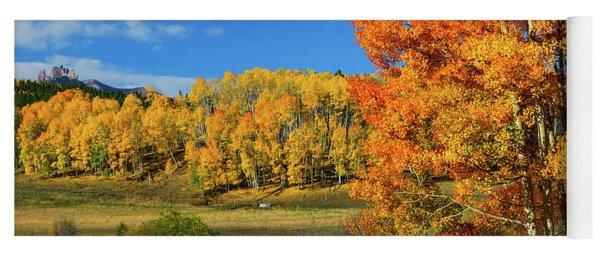 Fall In The Elks Yoga Mat